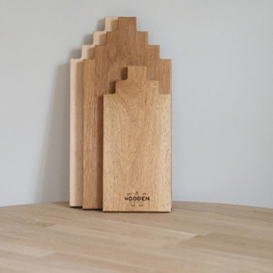 Houten serveerplank 40 cm