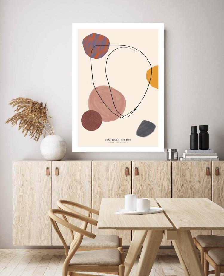 Kleurrijke posters