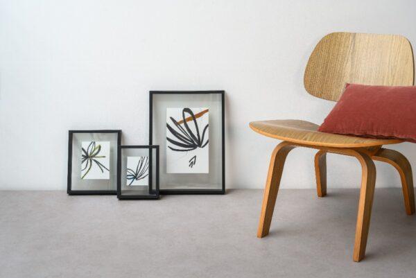 floating frame minimalism set van 3