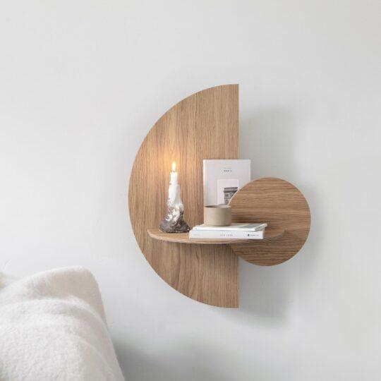houten nachtkastje alba m