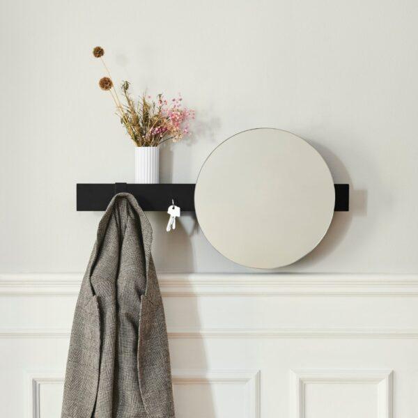 spiegel met wandplank