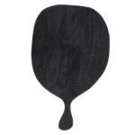 zwart houten serveerplank