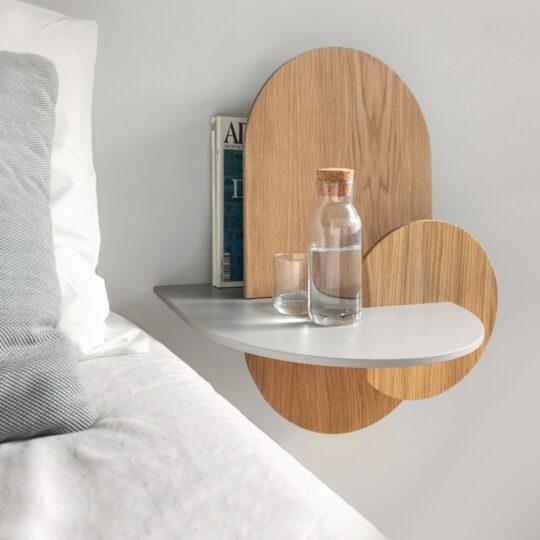 houten nachtkastje albal l